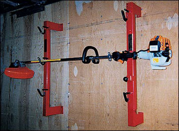 Picture of Trimmertrap Enclosed Trailer Trimmer Rack Holds 3