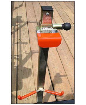 Picture of TrimmerTrap ST-2 Stihl 500 & 600 Series Blower Rack