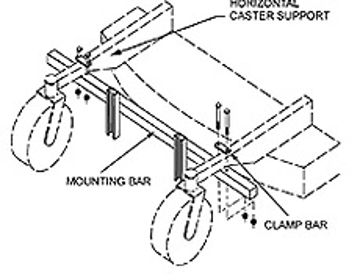 Picture of JRCO Universal Mount Bar Schematic