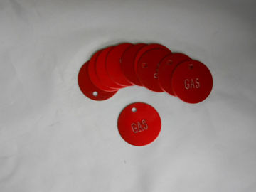 Picture of FT GT-1 Red Gasoline Tags