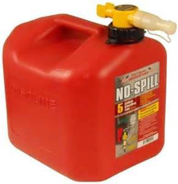 Picture of 1450 5 Gallon No Spill Gas Can