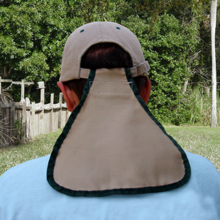Picture of CFBN24 Cool Flapp Ball Cap Neck