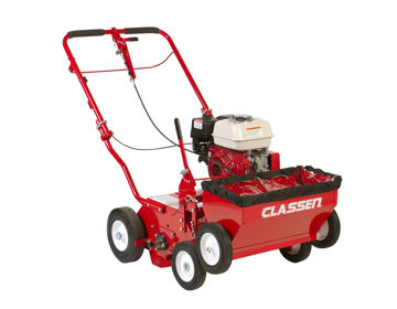 """Picture of TS-20H 20"""" Classen Push turf Seeder with 5.5hp Honda GX160 engine"""