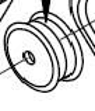 Picture of (TRE) ENGINE PULLEY, DOUBLE