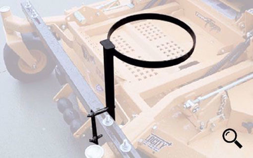Picture of 08BH JRCO Frame Mount Trash Receptacle Holder