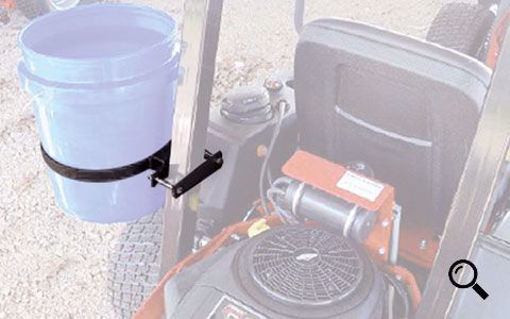 Picture of 09BH JRCO Roll Bar Trash Receptacle Holder