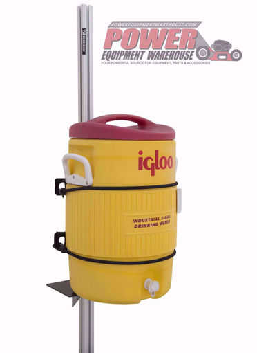 Gridiron cooler holder, trailer cooler holder, trailer storage