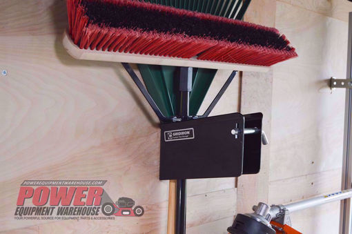 Gridiron tool holder, trailer hand hold holder, trailer storage
