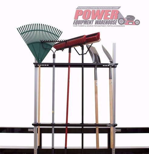 Gridiron trailer hand tool holder, trailer storage, gridiron