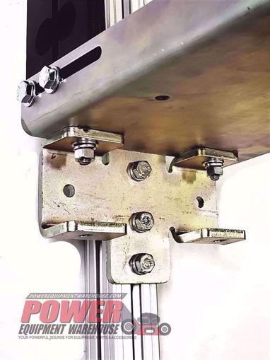 Gridiron bracket, chainsaw post bracket, trailer storage