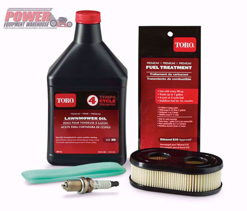 130-8146 Toro Maintenance Kit, Toro, engine oil, spark plugs, air filters, Toro lawn mower oil, lawn mowers, Toro walk behind mowers